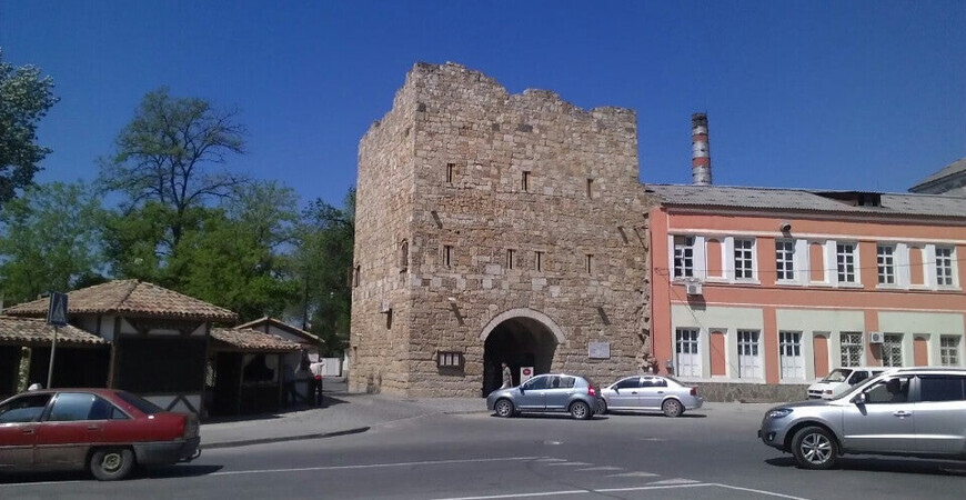 Гезлевские ворота в Евпатории