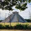 Чичен Итца. Пирамида Кукулькан.