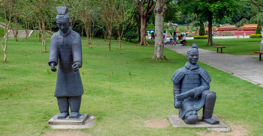 Парк «Splendid China» в Шэньчжэне (Splendid China Folk Village)