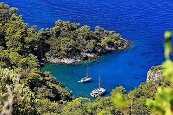 Эгейское море, окрестности Фетхие