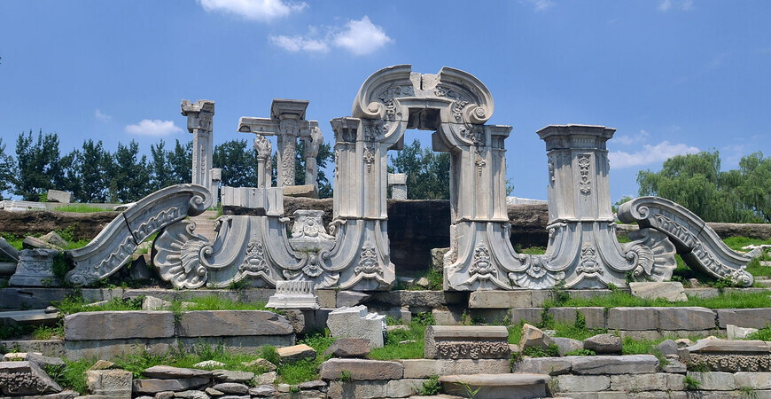Парк Юаньминъюань (Old Summer Palace Yuanmingyuan)