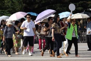 Жители Швейцарии недовольны большим числом туристов из Азии