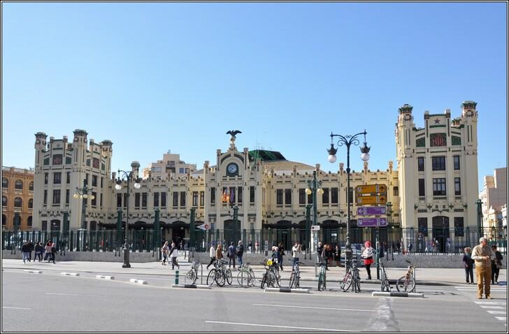 Северный вокзал Валенсии