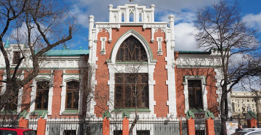 Театральный музей имени Бахрушина в Москве