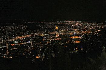 Ночной Тбилиси с фуникулера