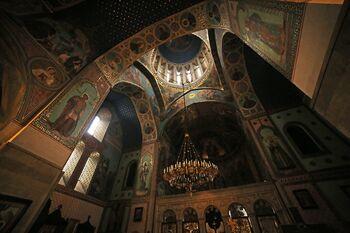 Фрески в соборе Сиони
