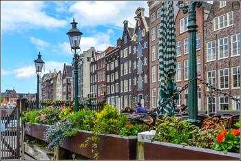 Число ночёвок в отелях Амстердама выросло за счёт китайских туристов