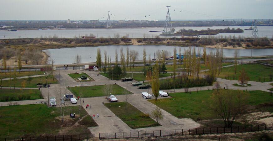 Парк Победы в Нижнем Новгороде