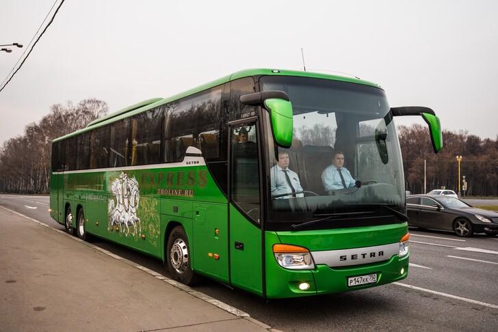 Автобус Москва — Рязань