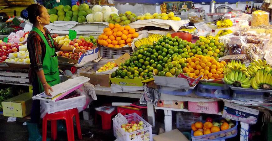 Рынок Даун-таун на Пхукете (Downtown Market Ranong)