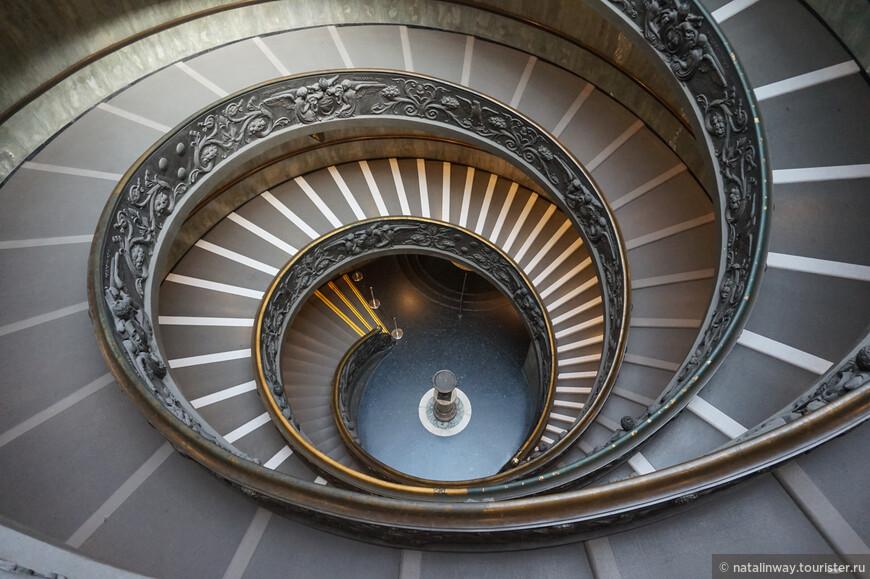Лестница Браманте в Ватикане