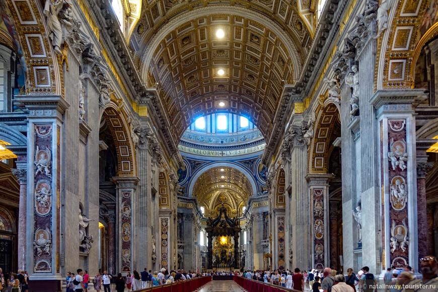 Собор Святого Петра - Внутреннее убранство