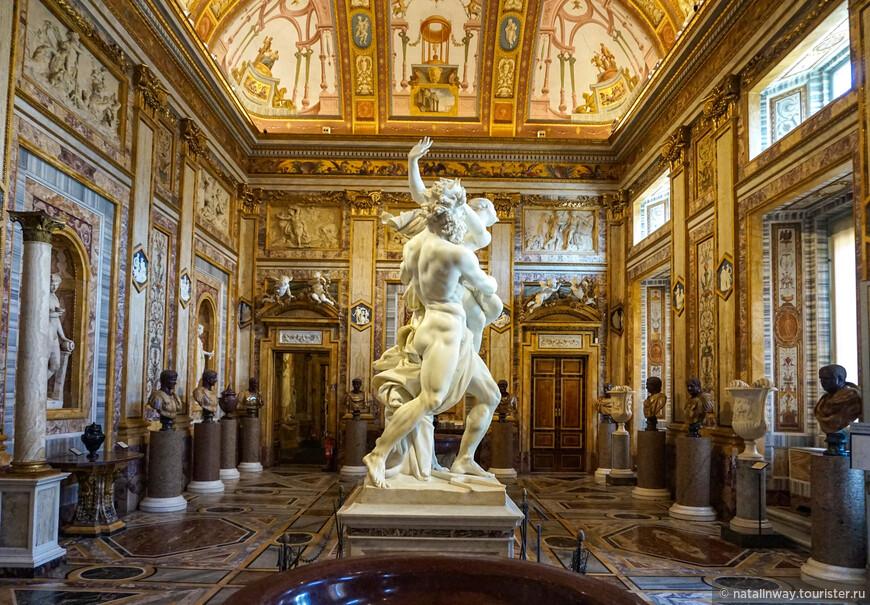 Похищение Прозерпины —  скульптура Джованни Бернини