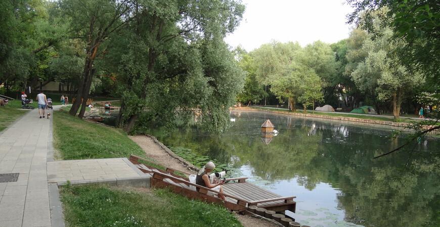 Леоновский парк — Сад будущего
