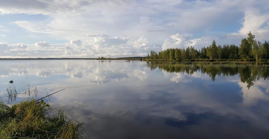 Озеро Волоярви