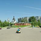 Парк Победы в Костроме