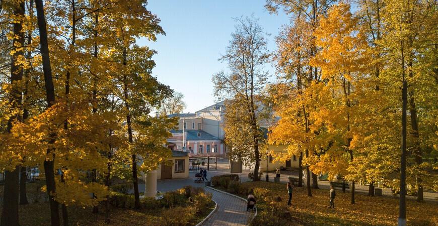 Парк Олега Степанова в Серпухове
