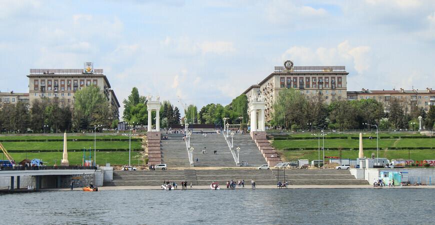 Парк 70-летия Победы в Волгограде
