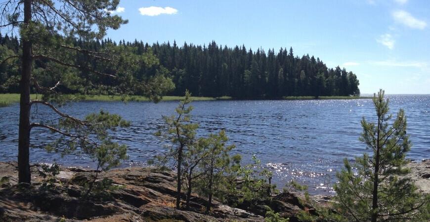 Озеро Сайма в Финляндии