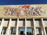 Исторический музей в Тиране — главный музей Албании
