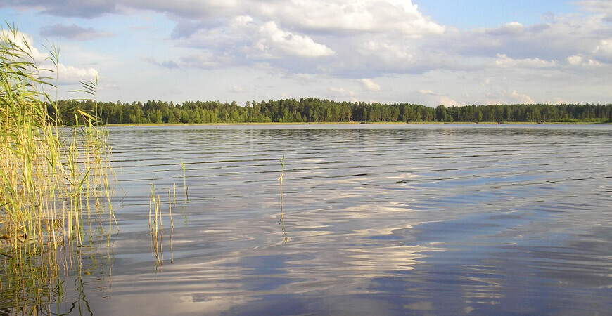 Озеро Большое Святое в Нижегородской области