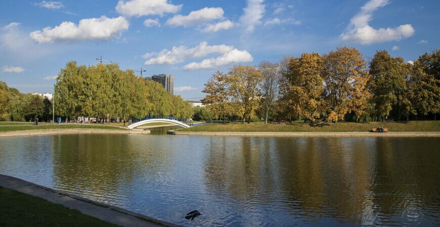 Парк Дружбы на «Речном вокзале» в Москве