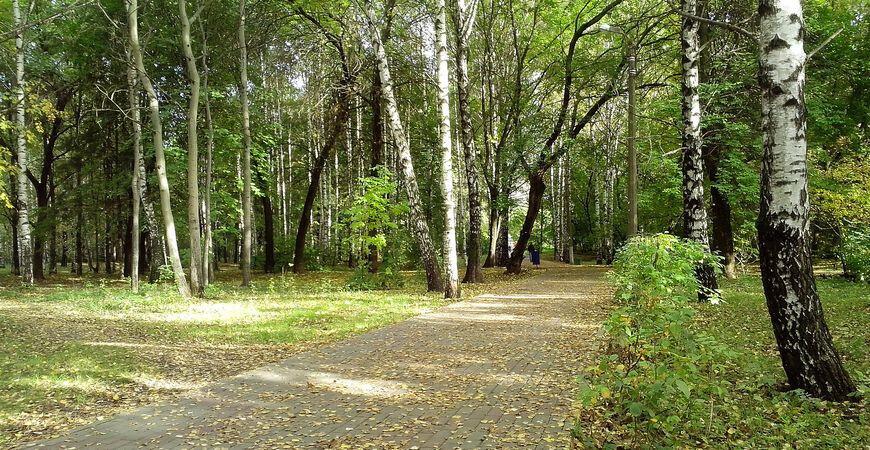Парк Пушкина вНижнем Новгороде