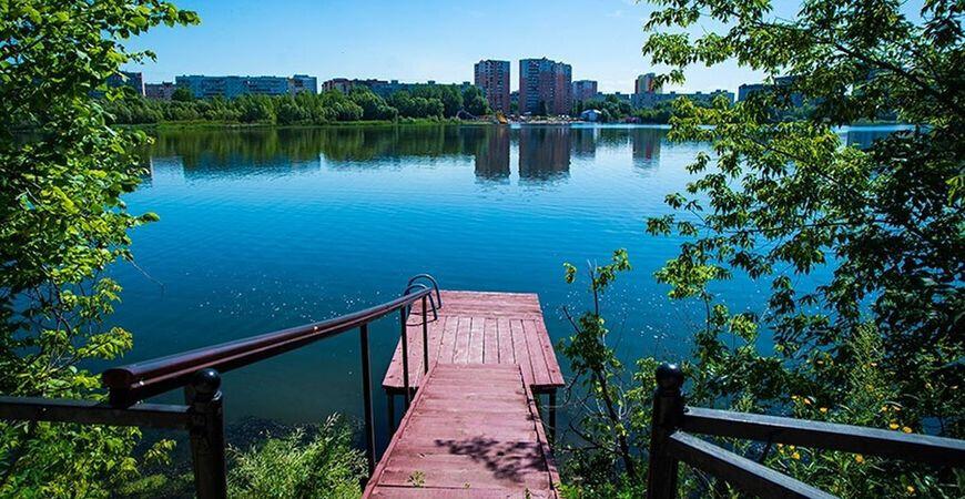 Озеро Тёплое в Уфе