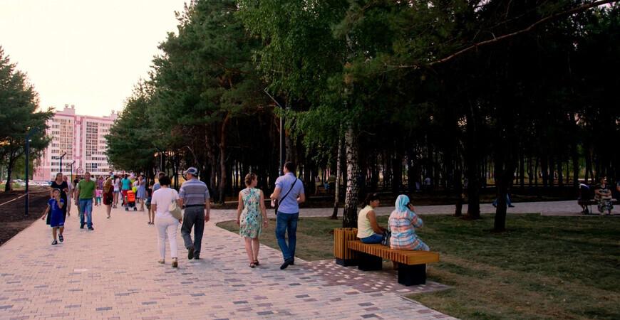 Парк «Семья» в Нижнекамске