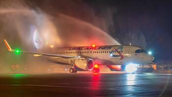 Уральские авиалинии получили первый Airbus A320neo