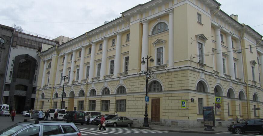 Музей театрального и музыкального искусства в Санкт-Петербурге