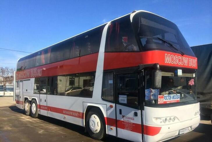 Автобус компании «Столичная»