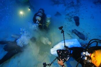 В Эгейском море найдены пять затонувших до нашей эры кораблей