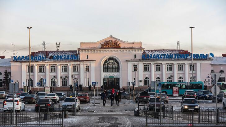 Вокзал Караганды