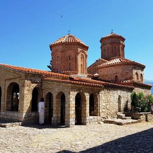 Монастырь Святого Наума возле Охрида