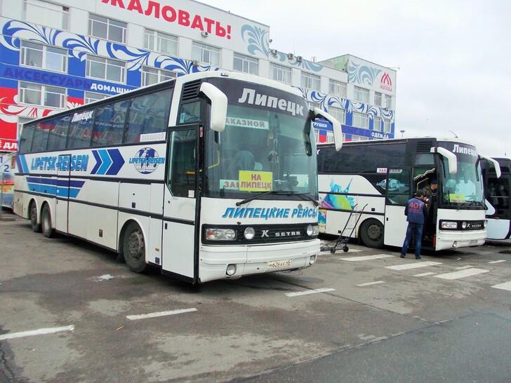 Автобус Липецк — Москва