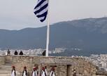 Праздник 15 августа. Церемония снятия флага.