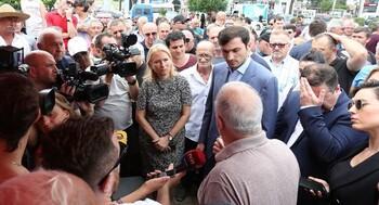 В Грузии проходят митинги из-за убытков от отсутствия туристов из РФ