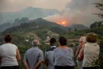 На Канарах из-за пожаров эвакуированы 10 000 человек