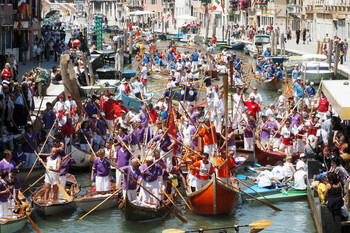 В Венеции пройдёт историческая регата