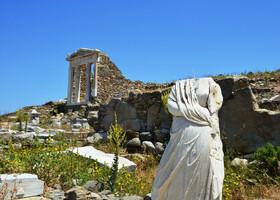 Остров Делос — там где родились Аполлон и Афродита