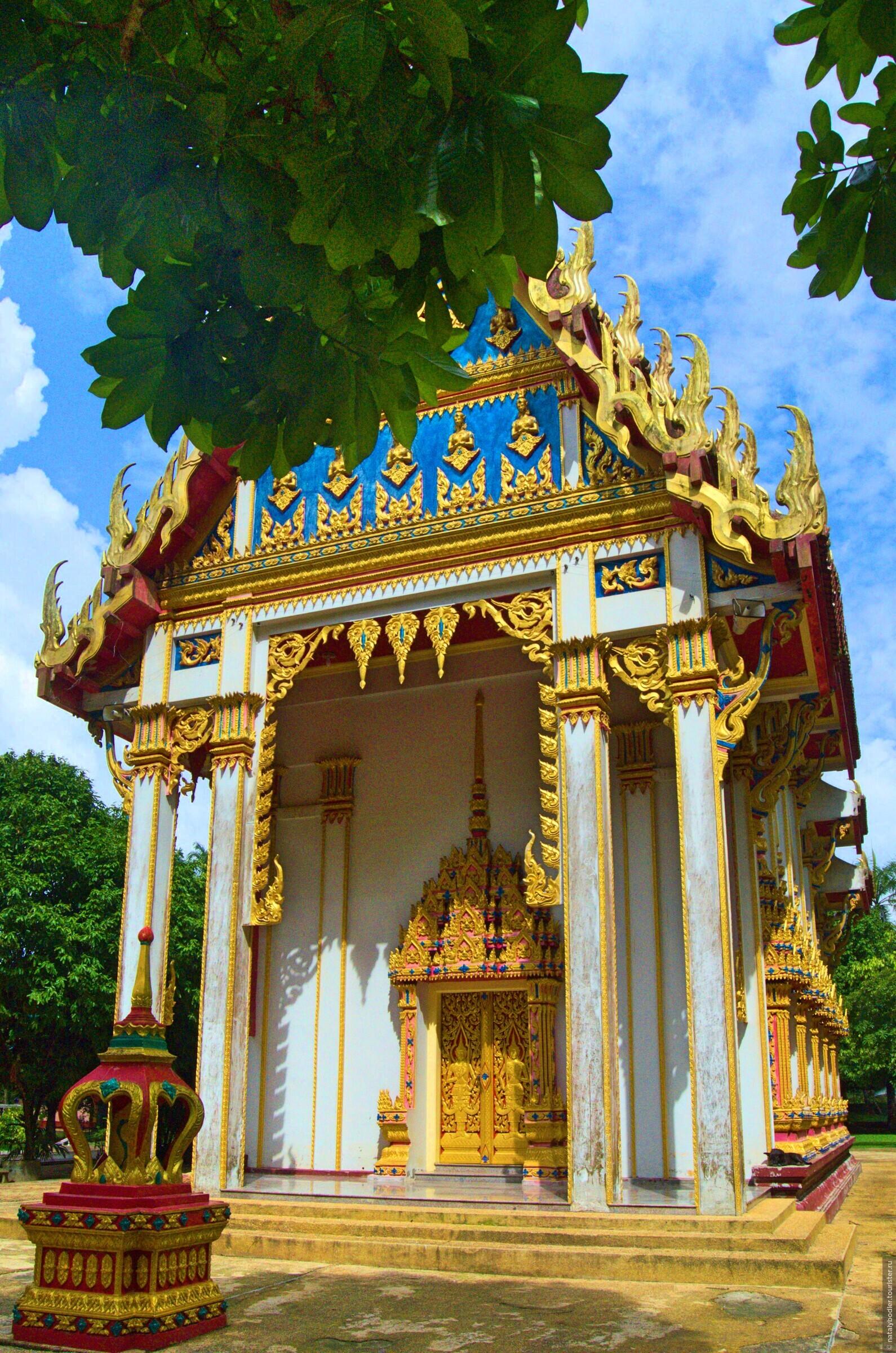 Пещерный храм Ват Суван Куха и обезьяны