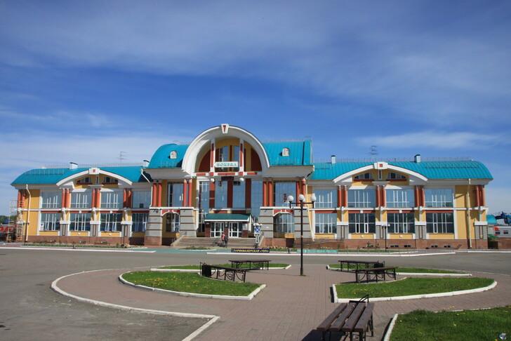 Ж/д вокзал Бийска