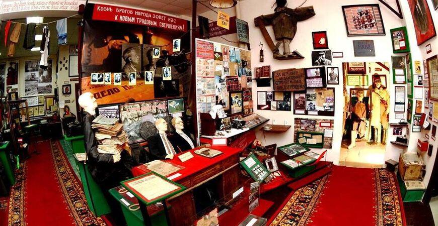 Музей прессы «Антресоль» в Задонске