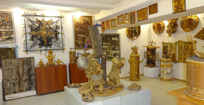 Музей «Сибирская береста» в Новосибирске