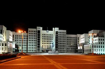 Дом правительства Республики Беларусь, площадь Независимости, Минск
