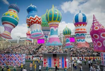 В День города в Москве пройдут сотни мероприятий