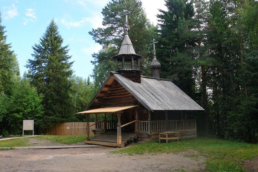 Архангельск Малые Карелы Музей под небом на Северной Двине