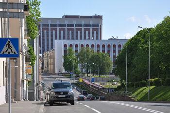 Транспорт в центре Минска