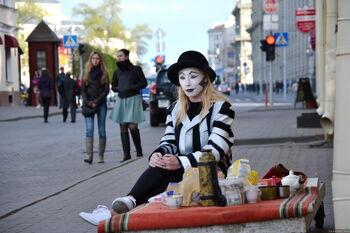 Театральный фестиваль на улицах Минска